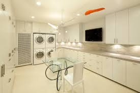 Decorations:Smart Laundry Room Organization Design Inspiration Awesome  Slick Laundry Room Design With White And