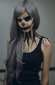 y but gorgeous looking makeup be the eater with this black themed dark ghoul makeup step it up with a pair of all black sclera