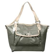 Coach Bleecker Riley Carryall Small Grey Satchels ECK