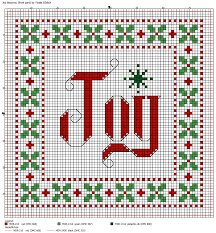 Cross Stitch Christmas Ornaments Patterns Free Simple Ideas