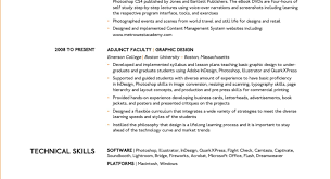 Cv Example Technical Skills Image Collections Certificate Design