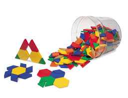 Pattern Blocks Awesome Amazon Learning Resources Plastic Pattern Blocks Set of 48