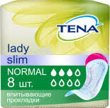 Купить <b>Прокладки Tena Lady Slim</b> Normal урологические 8шт с ...