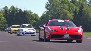 Supercars Accelerating! Ferrari 458 Speciale, Toyota Supra, BMW M5 ...