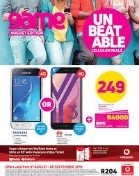 game voda unbeatable cellular deals 7 aug 6 sept 2018 page