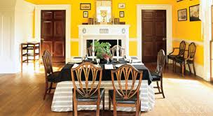 dining room colors with chair rail. via elle decor dining room colors with chair rail