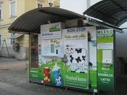 Raw Milk Vending Machine Classy MilkOMatic A Big Hit In Slovenian Farmers Markets Hartke Is Online