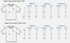 Gildan Ultra T Shirt Size Chart Dreamworks