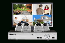 Home Security System With 2 Hd 1080P Security Cameras Featuring . regarding Canadian  Home Security