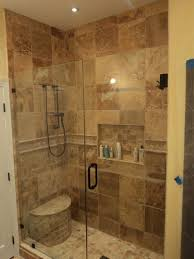 Ideas of stand up shower for small bathrooms