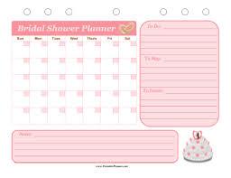 Bridal Shower Event Planner