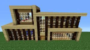 Modern Wood House Minecraft 360 Modern House Tutorial House Number 5 Youtube