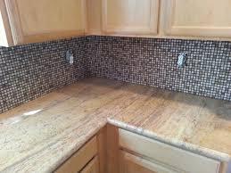 Limestone Kitchen Backsplash Newly Installed Marble Limestone Travertine Countertop And