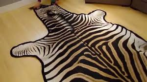 unboxing grade a felted zebra skin rug burchelli breed interior design project