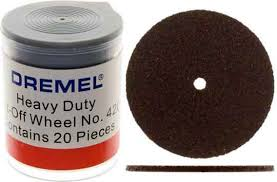 cut off wheel dremel. dremel 420 - 20pc heavy duty cut-off wheels 1/16 inch hole: widget supply cut off wheel o