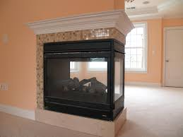 3 sided electric peninsula fireplace three sided gas fireplace model hearth products visit showroom partners