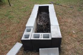 peachy design how to build an outdoor fireplace with cinder blocks 29