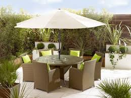 outdoor dining sets with umbrella. patio, dark brown round modern wooden patio set with umbrella varnished design for furniture outdoor dining sets