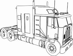 Camper Trailer Coloring Pages With Color Trucks Prettier Truck And
