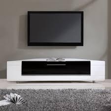 Ayla Light Walnut Stainless Steel Ir Compatible Tv Stand Editor Remix Tv Stand Corner Tv Corner Tv Stands Tvs