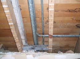 plumbing pipes are normally within the walls because if the piping were exposed it would be vulnerable to damage and ugly to look at
