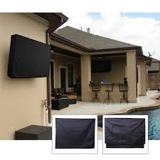 outdoor tv cover water and dust resistant fits over most waterproof television no outdoor tv covers t34