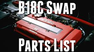 how to b18 swap parts list and guide honda civic ek9 build youtube b18c type r wiring harness B18c Wiring Harness #46