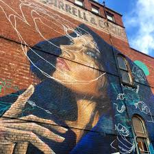 somewhere in fitzroy off brunswick st on wall art melbourne street with melbourne street art the update