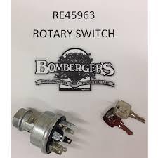 mowerandtractorparts john deere electrical john deere ignition switch keys re45963 5200 5300 5400 5500 5210 5310 5410 5510 4200