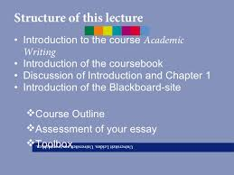 lecture academic writing in english final