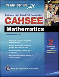 cahsee mathematics test california cahsee test preparation cahsee essay examples