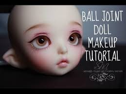 ball jointed dolls. ball joint doll makeup tutorial (sensei\u0027s makeup) jointed dolls d
