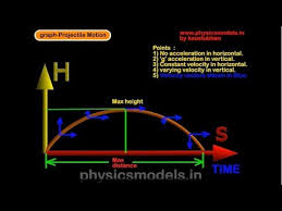 Physics Projectile Motion And Graph