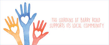 the gardens at barry road supports its local community post featured image
