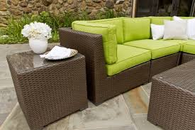 nice brown wicker patio furniture decor suggestion plastic set sets wicker patio replacement cushions furniture