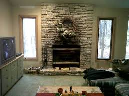 Elegant Interior And Furniture Layouts Pictures  Faux Stone Faux Stone Fireplace Mantel