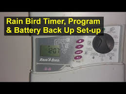 Rain Bird E 6c Programming Chart Videos Matching How To Program Your Rainbird Sprinkler Timer