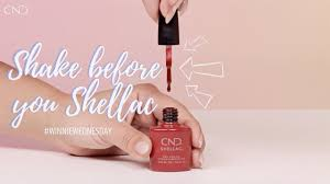 <b>CND</b> - <b>Creative Nail</b> Design - Shake before you CND Shellac ...
