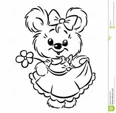Coloring Pages Free Coloring Pages Of A Girl With Flowers Free