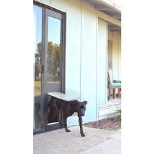 the quick panel 3e and thermo panel sliding door dog door both have the endura flap