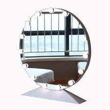 Round Makeup Light Amazon Com Sdk Makeup Mirror Round Led Bathroom Vanity
