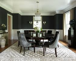 view in gallery contemporary dining room with splashes of black design roughan interior design