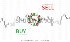 Free Buy Sell Signal Chart Stock Market Chart Graphic Elements Vector Stock Vector