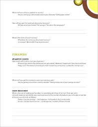 A Simple Business Plan Template Simple Business Plan Template Basic Format Pdf Sample