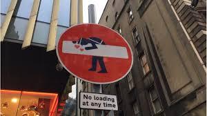 Edinburghs Road Signs Hacked By Artist Bbc News