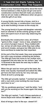 17 best ideas about construction humor animal jokes 5 year old girl starts talking to a construction crew then this happens