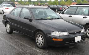 Geo/Chevrolet Prizm - Simple English Wikipedia, the free encyclopedia