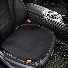 o shi car short plush seat cover