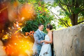 beautiful and colorful wedding photo portraits made at hudson gardens and events center in littleton