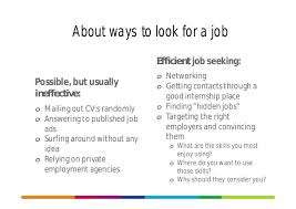 What Do Jobs Look For Career Planning And Job Seeking